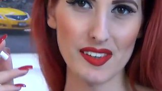 Hottest Homemade movie with Redhead, Webcam scenes