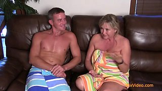 Real mother &amp son hot incest fuck interview