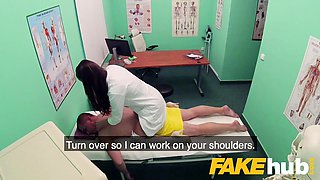 Fake Hospital Masseuse hot wet pussy and squirting orgasms