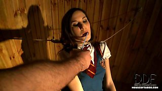 Schoolgirl Bound And Punished