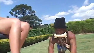 Midget Vs Brazilian Maid