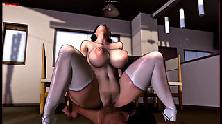 melon housewife animation 2