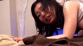 Sensual Schoolgirl Massage Ends in Dripping Cream Pies