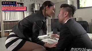 JAVAV Hot office lady idol fucking uncensored squirt