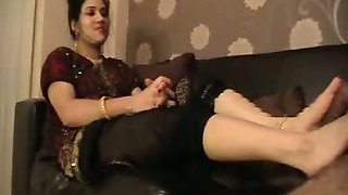 Indian Housewife In Foot Fetish Sex