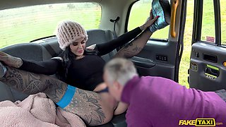 Hot ass Karma Synn rough fucked by the fake taxi driver. HD