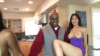 Both Rane and her friend Diana are ready for the interracial bonking