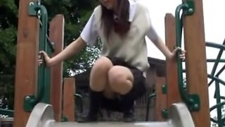 Public panty shots of some stunning Japanese chicks