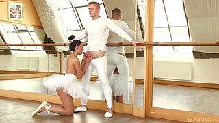 Rosaline Rosa seduced by a horny man for a hardcore fuck