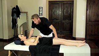 Busty massaged milf gets fucked