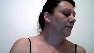 Brazilian milf plays with me on skype