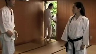 Japanese karate teacher Forced Fuck His Student - Part 2