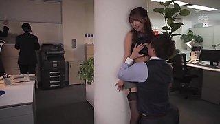 Sex Overtime Work Escalating Every Week - Yua Mikami