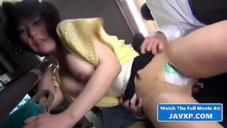 Raunchy Asian Mature Had Intercourse On The Bus