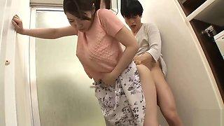 Kimono A Father Next Her Adulter
