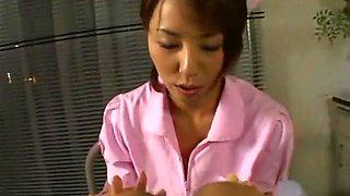 Amazing Japanese girl Kaya Yonekura, Manami Nishi in Best POV, Cougar JAV movie