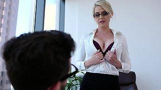Pervy teacher teaches young student sex