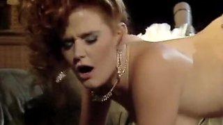 Redhead bride and darksome jock