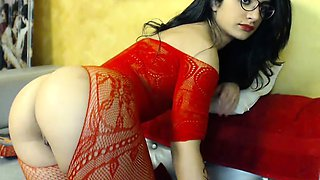 Beautiful indian babe in softcore