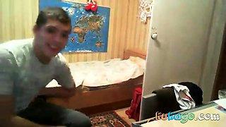Russian teen fuck at home hidden cam