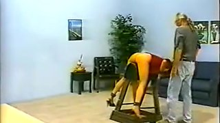 Exotic homemade BDSM, Spanking xxx movie