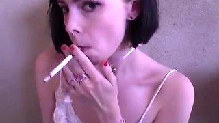 Hottest amateur Smoking, Fetish porn movie