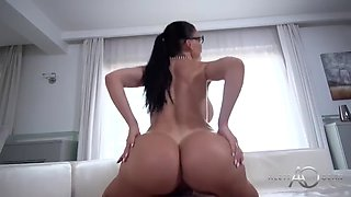 Huge Tits MILF Aletta Ocean Gets Her Fat Pussy In The Office