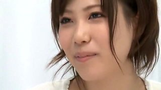 Incredible Japanese chick in Amazing Cunnilingus, Casting JAV scene