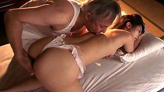 Junko Ishikura Old Japanese Mom Enjoying A Young Dick