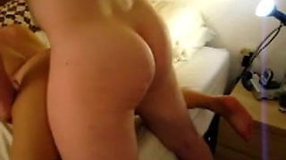 Amateur asian ex gets fucked and creampied by white guy
