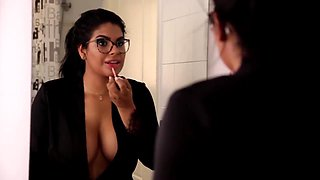 Thick Latin housewife Sheila gets her leak stuffed by the plumber