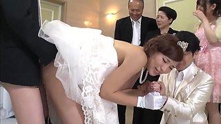 Best Man Takes Bride In Japanese Wedding 1