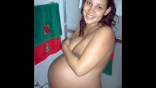 Compilation of pregnant girlfriends exposing their big tits