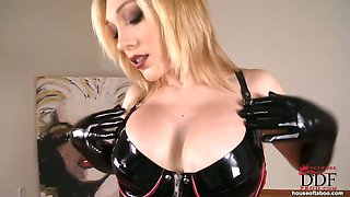 Sizzling hot lily in latex