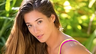 Finally Eva Lovia gets ready for her first boy/girl scene!!!