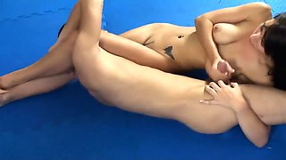 Mixed wrestling cum