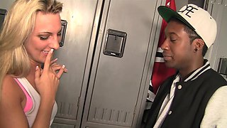 Dirty blonde gets hard pounded
