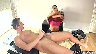 Full massage program from nasty Kayla Carrera!