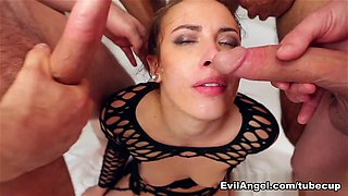 Casey Calvert & John Strong & Chris Strokes & Isiah Maxwell in Wet Food #06 Movie