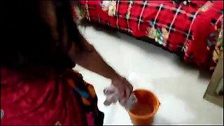 Indian maid has hard sex with boss, Hindi sex