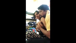 Indian hot sexy couple has romance & sex