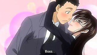 Incredible romance anime video with uncensored big tits
