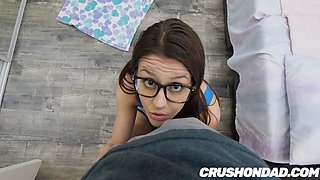 Step Daughter Catalina Ossa Blows Her DAD