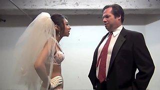 Femdom bride