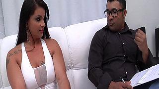 Busty Latina Cristine Castellary Craves Anal Sex 1080p