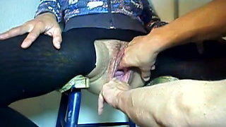 brutal double fisted pussy
