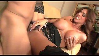 Cougar slut taking stud hard cock