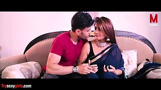 Young Boy with Indian sexy teacher and classmate, web series