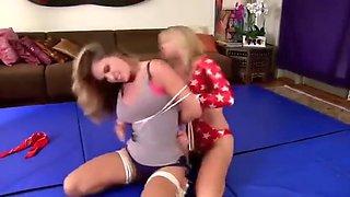 Bondage wrestling domination