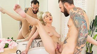 Pervert In The Bathroom